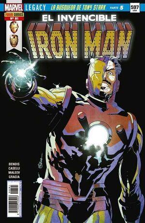 INVENCIBLE IRON MAN VOL 2 #091 MARVEL LEGACY. LA BUSQUEDA DE TONY STARK 5