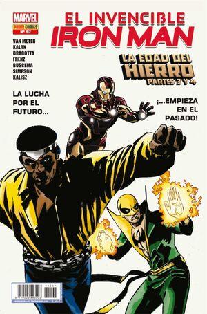 INVENCIBLE IRON MAN VOL 2 #097 LA EDAD DEL HIERRO PARTES 3 Y 4