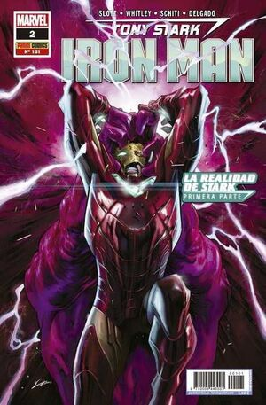 TONY STARK: IRON MAN VOL 2 #101 / 002. LA REALIDAD DE STARK - 1