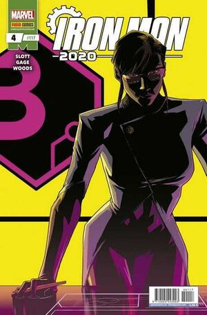 IRON MAN 2020 V2 #117 / 004