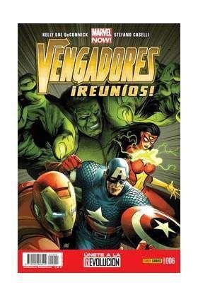 VENGADORES REUNIOS #06