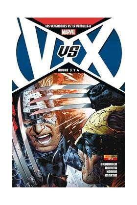 LOS VENGADORES VS LA PATRULLA -X #002 (PORTADA A)