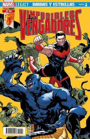 IMPOSIBLES VENGADORES #59 MARVEL LEGACY. BARRAS Y ESTRELLAS (PARTE 1)