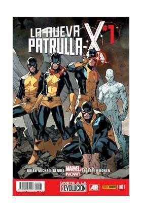 LA NUEVA PATRULLA-X #01