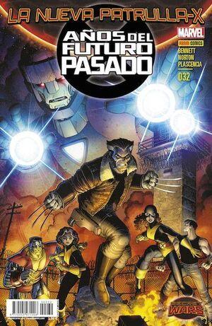 LA NUEVA PATRULLA-X #32: AÑOS DEL FUTURO PASADO 4