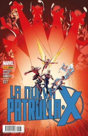 LA NUEVA PATRULLA-X #37