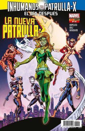 LA NUEVA PATRULLA-X #51 INHUMANOS VS PATRULLA-X: EL DIA DESPUES