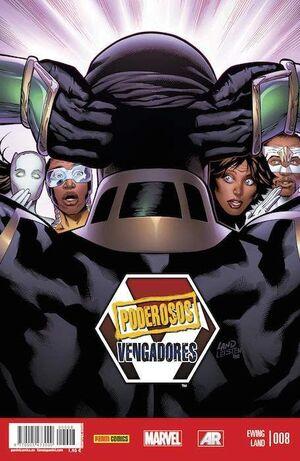 PODEROSOS VENGADORES #08