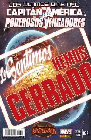 CAPITAN AMERICA Y LOS PODEROSOS VENGADORES #22