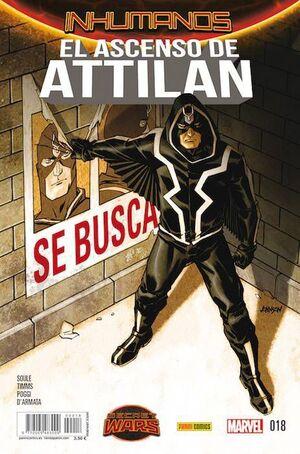 INHUMANOS #018. EL ASCENSO DE ATTILAN - SECRET WARS