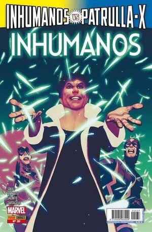 INHUMANOS #037 INHUMANOS VS PATRULLA-X