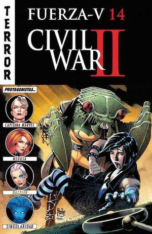 FUERZA V #14. CIVIL WAR II