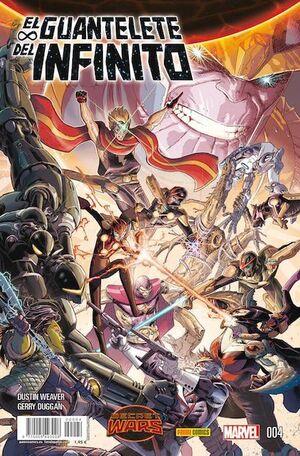 SECRET WARS: EL GUANTELETE DEL INFINITO #04