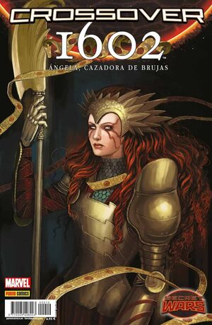 SECRET WARS: CROSSOVER #10 1602: ANGELA CAZADORA DE BRUJAS