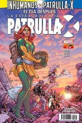 LA EXTRAORDINARIA PATRULLA-X #20. INHUMANOS VS PATRULLA-X