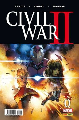 CIVIL WAR II #0 (PORTADA A)