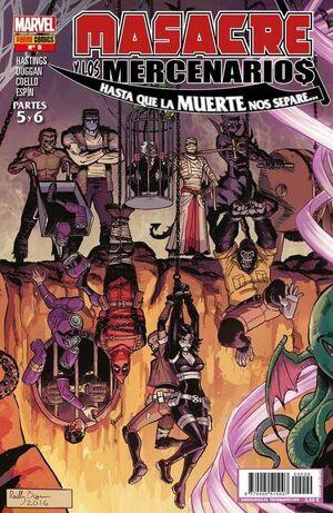 MASACRE Y LOS MERCENARIOS #09. HASTA QUE LA MUERTE NOS SEPARE... PARTES 5/6