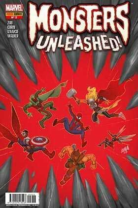 MONSTERS UNLEASHED! #02