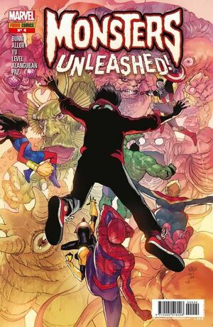 MONSTERS UNLEASHED! #04