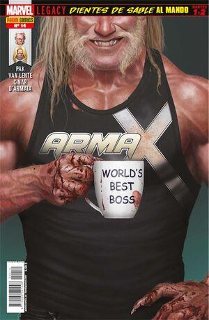 ARMA X #14. DIENTES DE SABLE AL MANDO - PARTES 1 Y 2