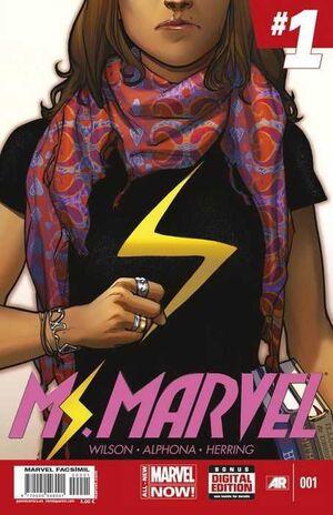 MARVEL FACSIMIL #03. MS MARVEL 01