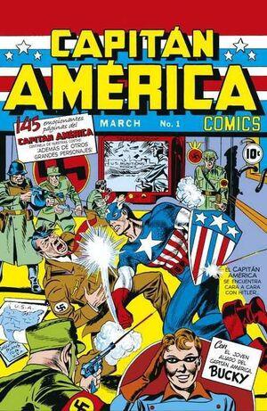 MARVEL FACSIMIL #13. CAPITAN AMERICA COMICS 1