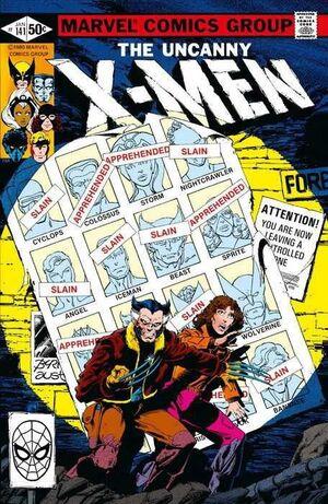 MARVEL FACSIMIL #18. THE UNCANNY X-MEN 141