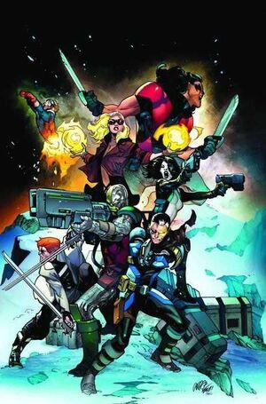 X-FORCE VOL.1 #001 (GRAPA)