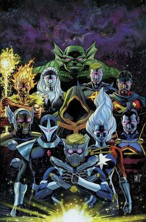GUARDIANES DE LA GALAXIA VOL.2 #072 / 009
