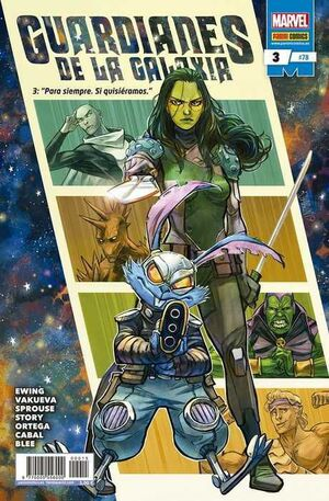 GUARDIANES DE LA GALAXIA VOL.2 #078 / 003
