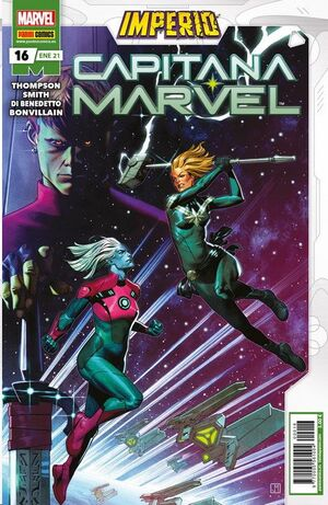 CAPITANA MARVEL #16 (GRAPA)