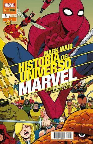 HISTORIA DEL UNIVERSO MARVEL #003