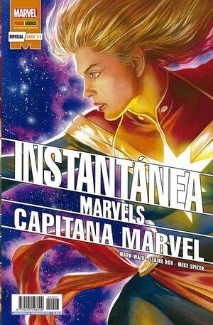 INSTANTANEA MARVELS #08. CAPITANA MARVEL