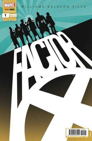 FACTOR-X #01 (GRAPA MARVEL)