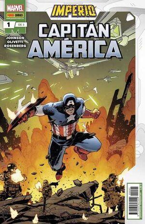 IMPERIO: CAPITAN AMERICA #01 (GRAPA MARVEL)