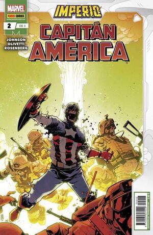 IMPERIO: CAPITAN AMERICA #02 (GRAPA MARVEL)