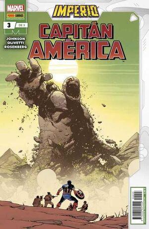 IMPERIO: CAPITAN AMERICA #03 (GRAPA MARVEL)