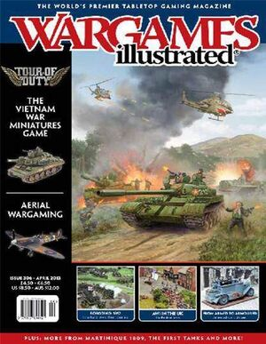 WARGAMES ILLUSTRATED #308 JUNIO 2013