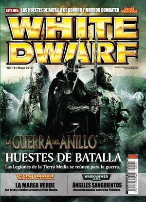 REVISTA WHITE DWARF 181