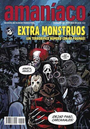 AMANIACO #46. EXTRA MONSTRUOS