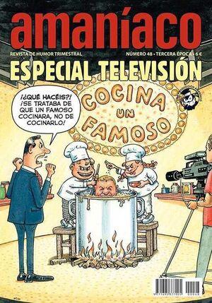 AMANIACO #48. ESPECIAL TELEVISION
