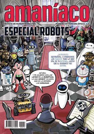 AMANIACO #54. ESPECIAL ROBOTS