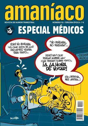 AMANIACO #55. ESPECIAL MEDICOS