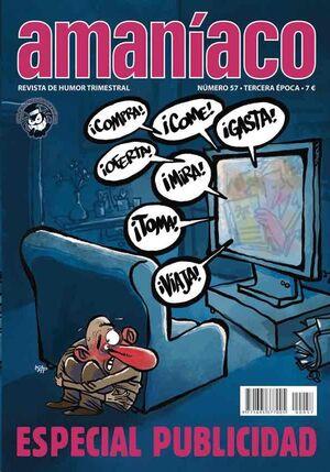 AMANIACO #57. ESPECIAL PUBLICIDAD
