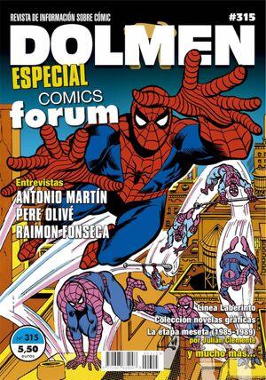 DOLMEN #315. ESPECIAL COMICS FORUM