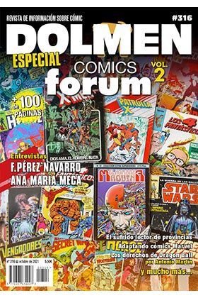 DOLMEN #15 ESPECIAL COMICS FORUM (SEGUNDA PARTE)