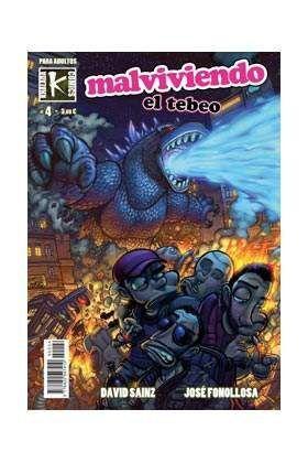 MALVIVIENDO: EL TEBEO VOL. 4