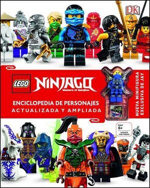 LEGO NINJAGO ENCICLOPEDIA DE PERSONAJES. ACTUALIZADA Y AMPLIADA