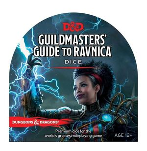 DUNGEONS & DRAGONS RPG DADOS WATERDEEP GUILDMASTER´S GUIDE TO RAVNICA