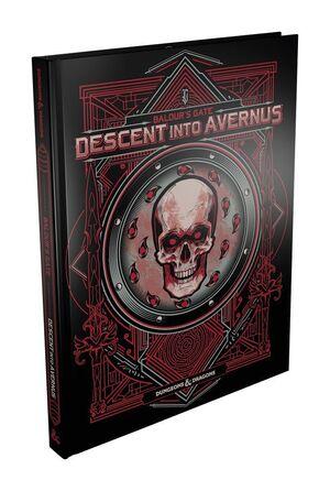 DUNGEONS & DRAGONS RPG ADVENTURE BALDUR'S GATE: DESCENT INTO AVERNUS ALTERNATE COVER INGLÉS